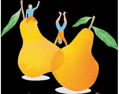 The Happy Pear logo