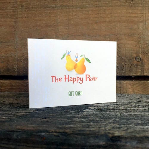happy pear gift card