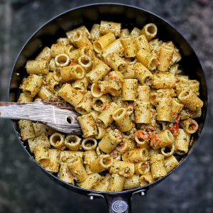 Almond and red pepper pesto